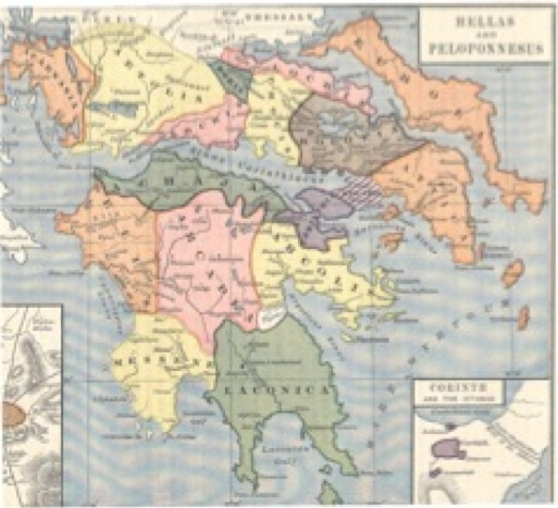 an introduction to the history of the greek city states of athens and sparta - during the period of greek history from the last years of the persian  these two city-states, sparta and athens have unique  - outline i introduction.