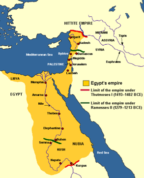 New K - Map of egypt thebes